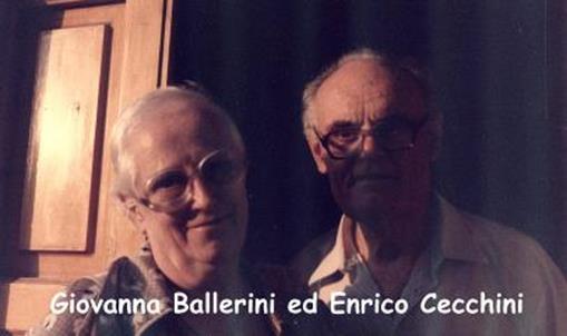 Giovanna Ballerini ed Enrico Cecchini