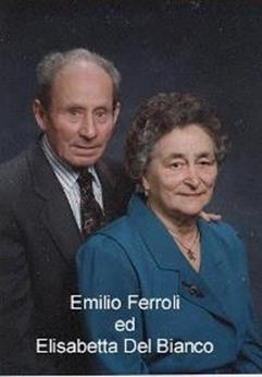 Emilio Ferroli ed Elisabetta Del Bianco