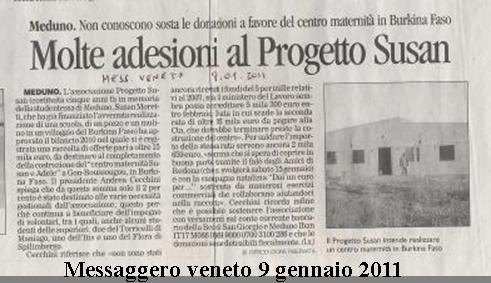Messaggero Veneto 9/1/2011