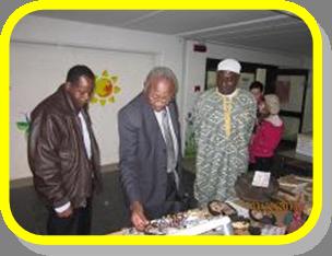 L'ambasciatore del Burkina Faso Raymond Balima