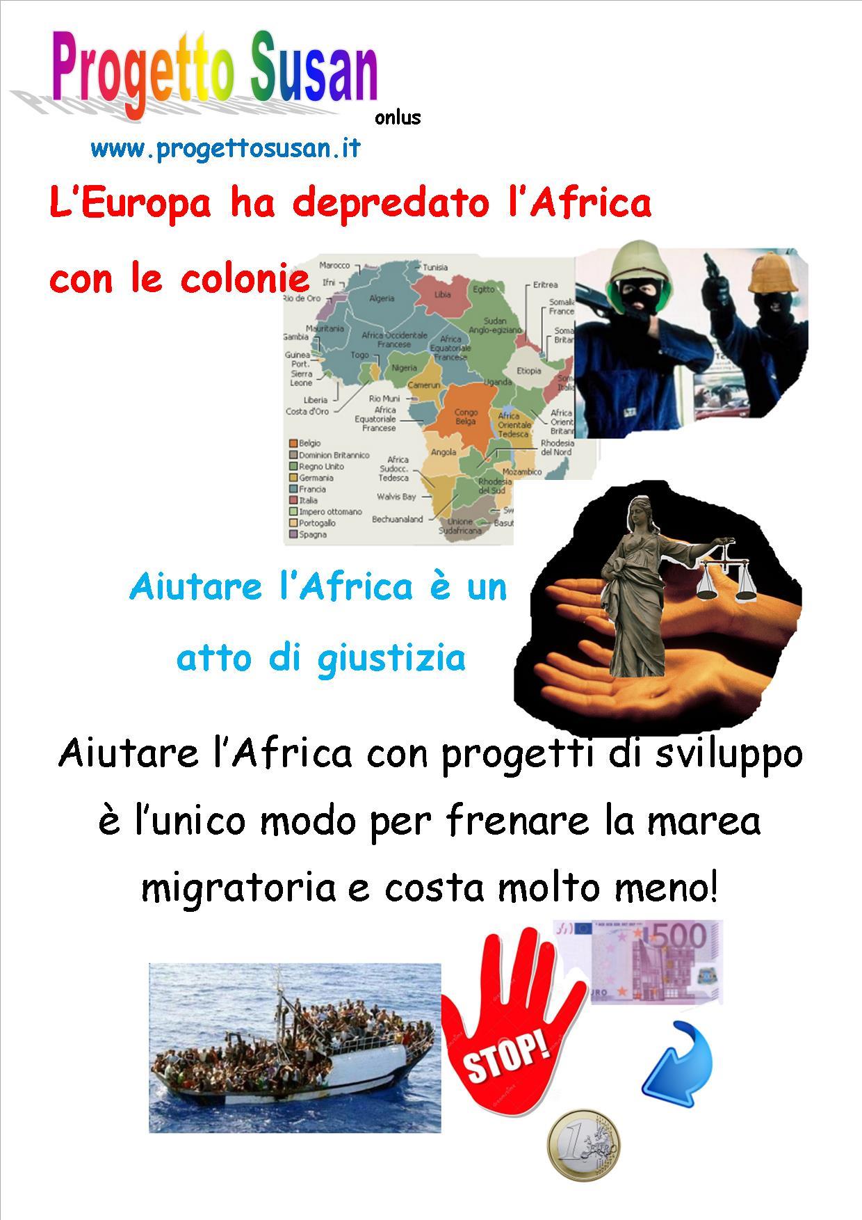 La nostra filosofia: aiutare l'Africa è un atto di giustizia