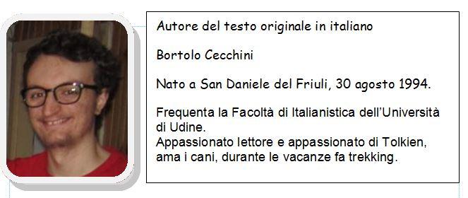 Bortolo Cecchini autore testo