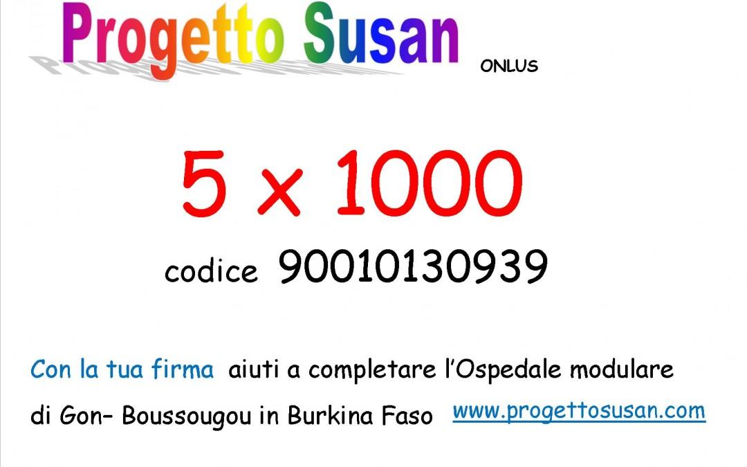 5 x 1000 Il miglior risultato di sempre!