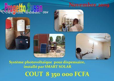 Photovoltaique dispensaire